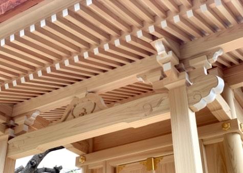 企業神社の新築
